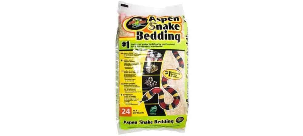 Aspen snake bedding from Zoo Med