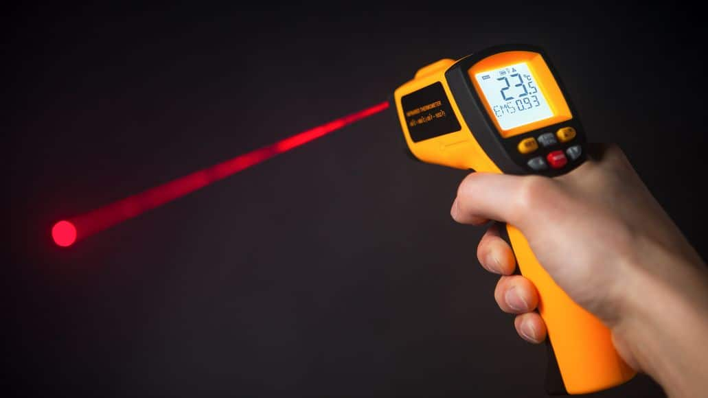 Laser Thermometer