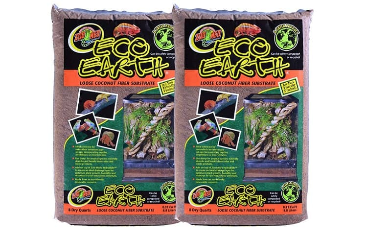 Zoo Med Eco Earth Coconut Fiber Substrate for Reptiles Review