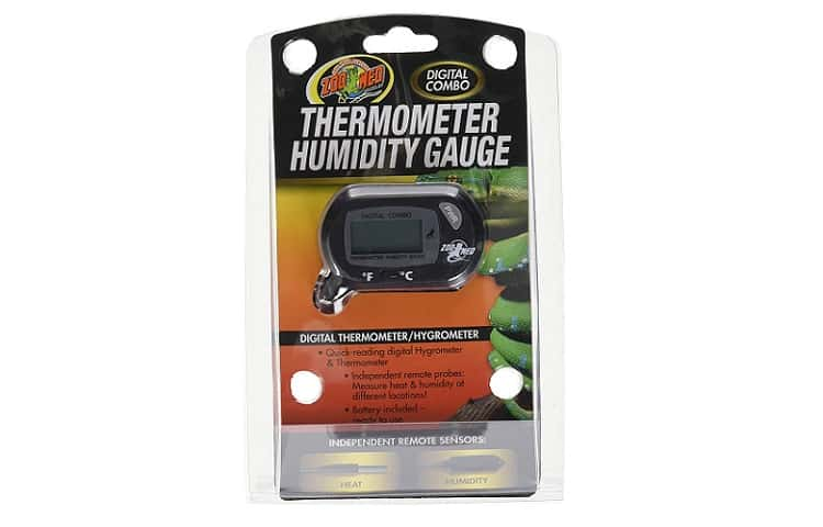 Zoo Med Labs Digital Thermometer and Humidity Gauge Review