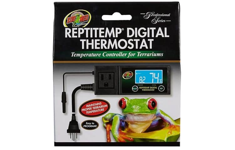 Zoo Med ReptiTemp RT-600 Digital Thermostat Review